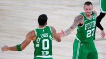 Playoffs statement? Boston builds 40-point lead, routs Toronto
