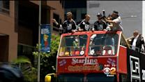 Thousands Attend Stanley Cup Victory Celebratory Parade In Downtown