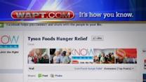Tyson Foods Launches Facebook Hunger Campaign