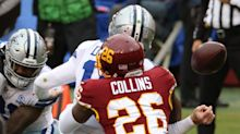 Landon Collins out with ankle injury as Washington leads 15-3