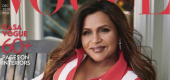Mindy Kaling. (Vogue)