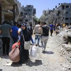 UN: 10,000 Palestinians flee homes in Gaza as Israel-Hamas fighting escalates