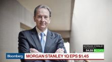 Morgan Stanley Finds 1Q Success in Diversified Model