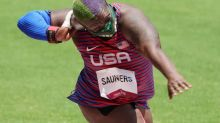 Olympics-Athletics-'Hulk' Saunders smashes her limits to Tokyo silver