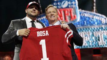 Nick Bosa goes No. 2 overall to 49ers