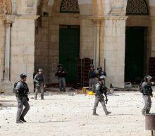 Violence erupts at al-Aqsa mosque as Israel marks Jerusalem Day