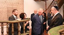 In Pictures: Charles in lament for victims of human hatred during Israel visit