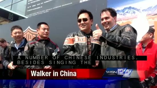 Governor on trade mission to China