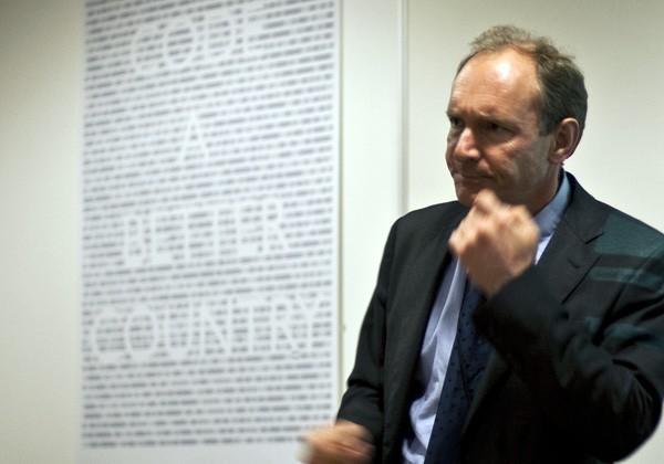 Tim Berners-Lee entreats us to keep the net neutral, standards open, and speech free