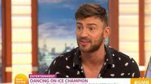 Jake Quickenden lets slip huge Dancing on Ice secret