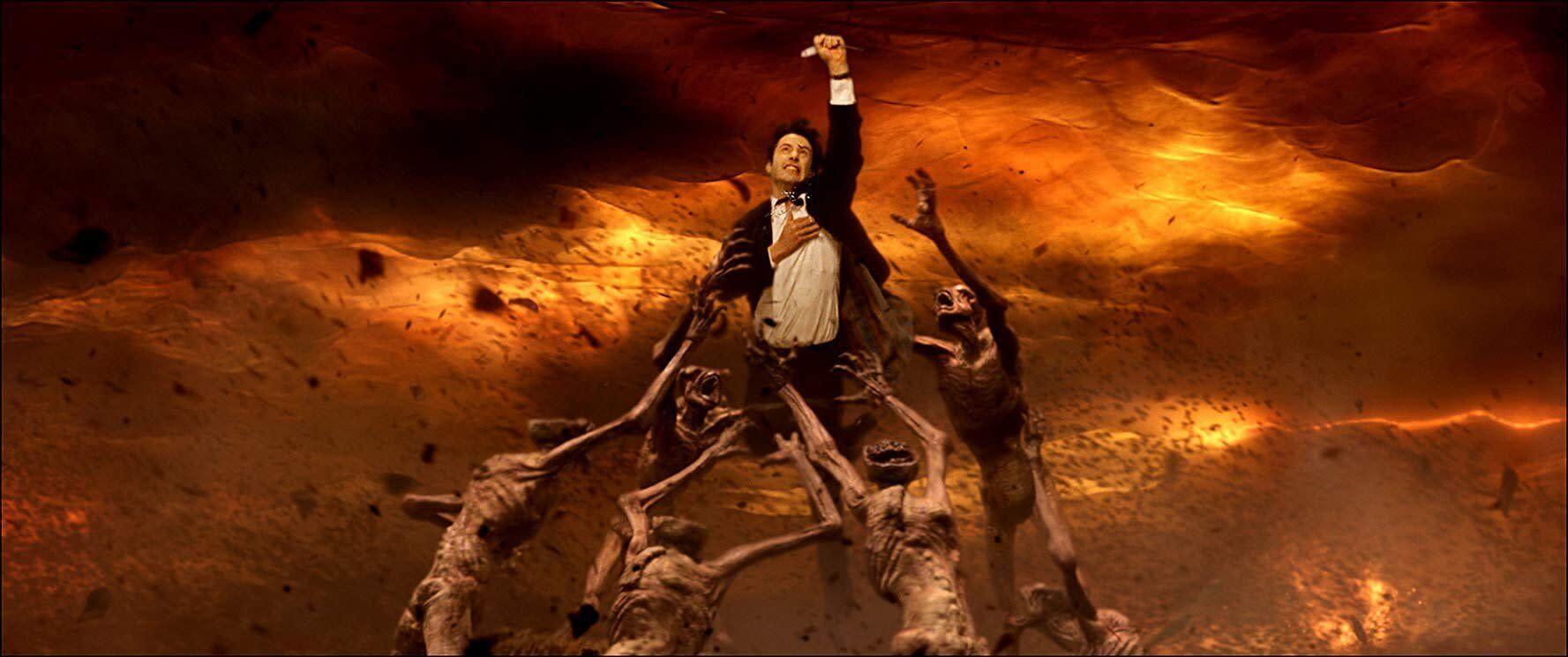 粉絲敲碗14年...基努李維鬆口:最想回歸《康斯坦汀》。(圖/《康斯坦汀:驅魔神探》劇照)