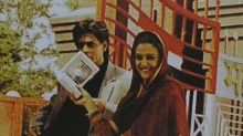 Throwback Thursday: Preity Zinta shares a candid picture with Shah Rukh Khan from Veer-Zaara