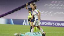 Foot - C1 (F) - PSG - Irene Paredes (PSG) à propos de l'arbitrage après la défaite contre l'OL: «Ça nous tue»