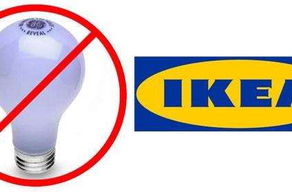 IKEA becomes the first major retailer to stop selling incandescent light bulbs