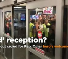 Trump fumes over Ilhan Omar's hero's welcome on return home