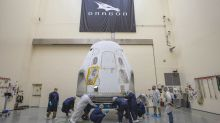 SpaceX delivers the Crew Dragon capsule to its launch site