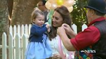 Prince George, Princess Charlotte Attend Military Children's Party in Canada