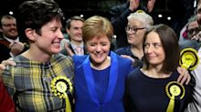 Nicola Sturgeon apologises for 'gracelessly' celebrating SNP win over Jo Swinson