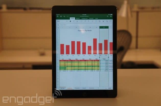 12 million people are already using Office for iPad