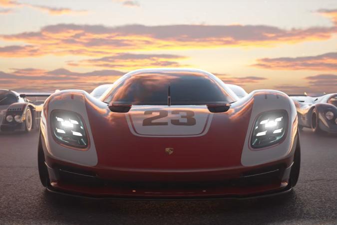 Porsche racer in 'Gran Turismo 7' for PS5