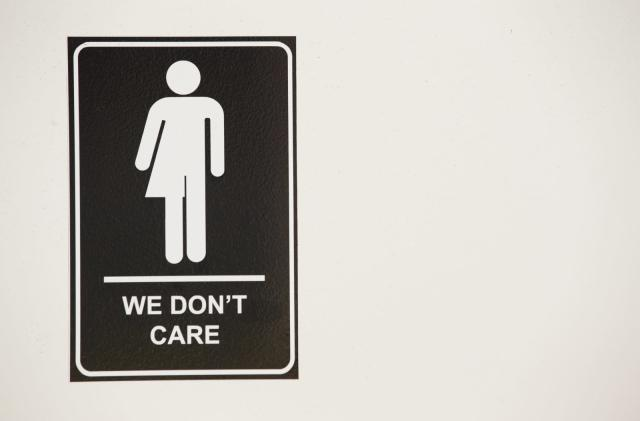 Yelp will help you find a gender-neutral bathroom