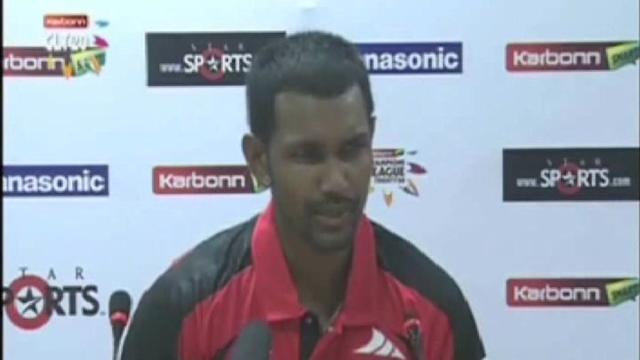 Trinidad and Tobago captain Denesh Ramdin press conference