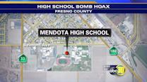 Bomb Squad detonates suspicious device at Mendota High School