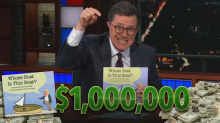 Stephen Colbert raised $1 million for charity with book mocking Trump