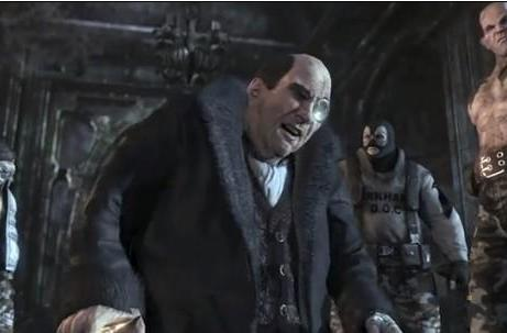 Batman: Arkham City's Penguin voiced by Nolan North (seriously)