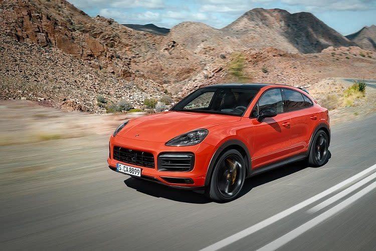 2020 Porsche Cayenne Coupe Shows Off Sleeker Sexier Silhouette