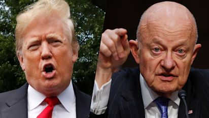 Trump falsely claims ex-intel chief 'admitted' FBI spying