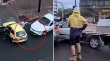 Shocking video of road rage after KFC carpark dispute