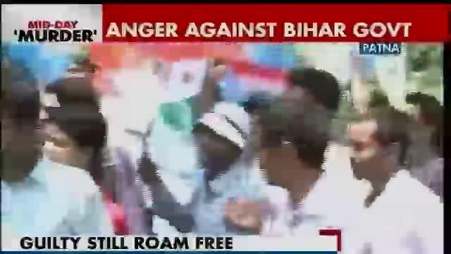 NSUI protests outside Bihar HRD minister over deaths due to mid-day meals