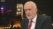 Jeremy Corbyn quizzed on his tax plans