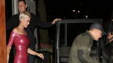 Katy Perry Slips Into Skintight Dress for Birthday Date Night With Orlando Bloom