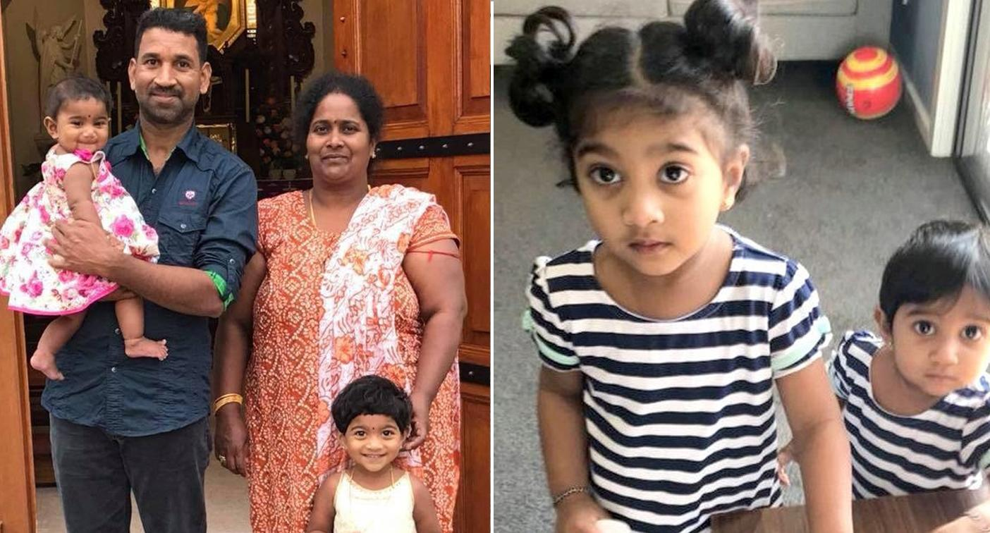 Tamil family will remain on Christmas Island until two-year-old's court battle