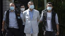 Jimmy Lai: Hong Kong media tycoon arrested under security law