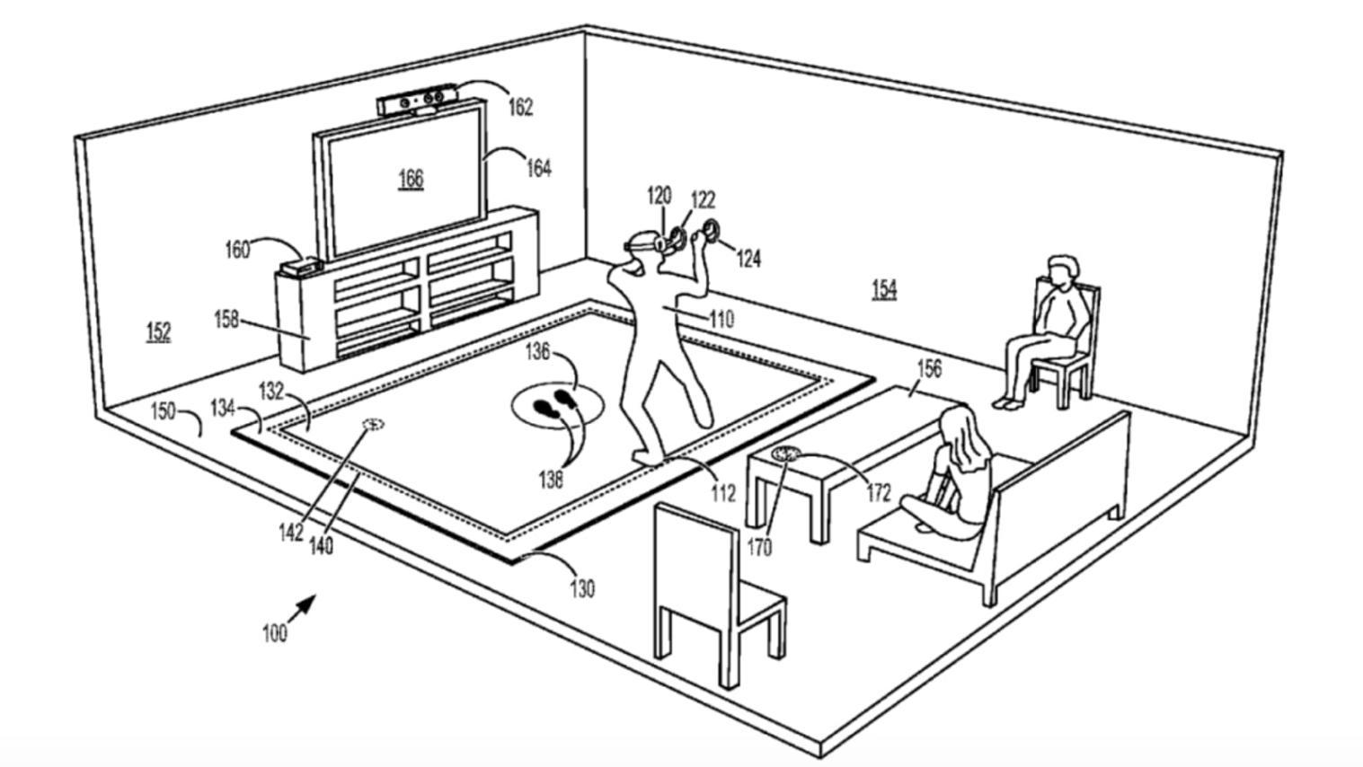 Microsoft Patent Application Describes A Vibrating Floor