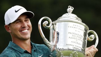 Koepka holding odd grudge against golf writer