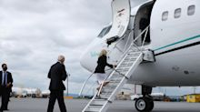 Joe Biden's security breached while boarding campaign plane