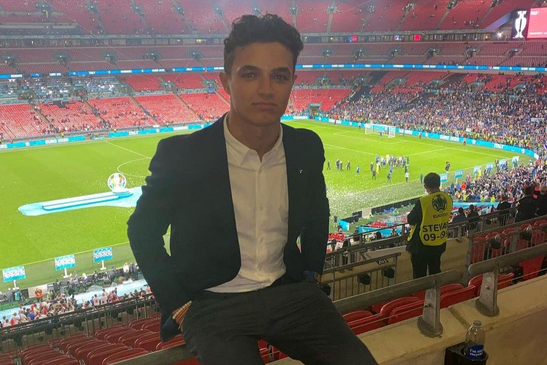 F1 star Lando Norris has watch stolen at Wembley after England lose Euros final to Italy