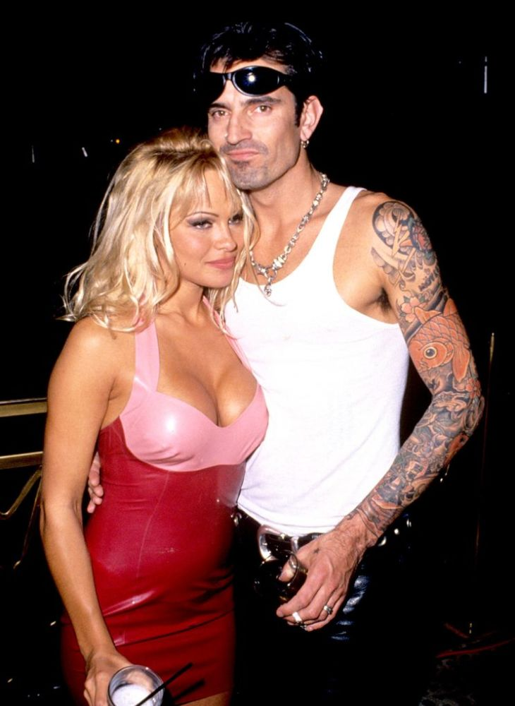 Pamela Anderson and Tommy Lee in March 1995. (Photo: S. Granitz/WireImage)
