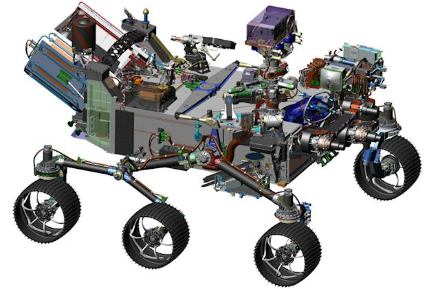 NASA's Mars 2020 rover will search for signs of past life