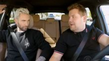 Adam Levine's Carpool Karaoke stopped by police