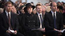 """Die Royals gedenken der Opfer des """"Grenfell Tower""""-Brandes"""