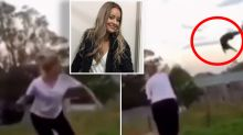 NSW woman filmed throwing cat in shocking video