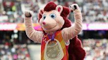 How Hero The Hedgehog stole the show at the World Athletics Championships