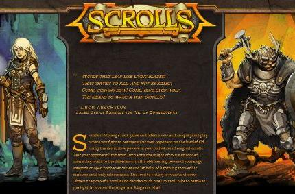 Scrolls goes on sale next week with open beta