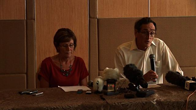 Relatives of freed Australian hostage call for justice