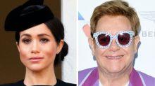 Elton John Slams Meghan Markle, Prince Harry Critics In Fiery Twitter Takedown